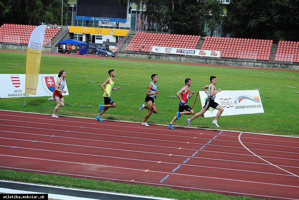 obr: Lukáš Muha na šampionáte s osobným maximom na 800m