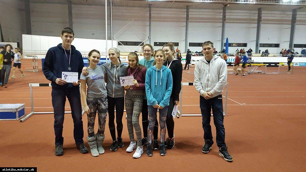 Na majstrovstvách dorastencov sa najlepšie umiestnili A.Hriň a L.S.Engel
