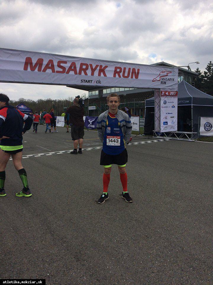 Ľubomír Orságh úspešný na Masaryk Run v Brne