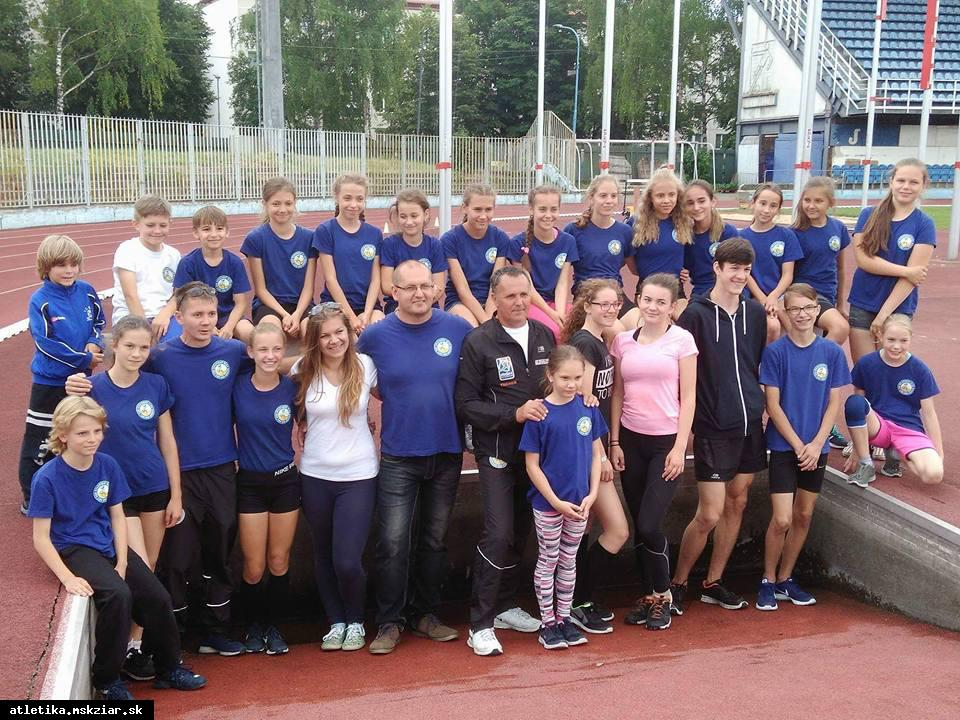 obr: Atlétky opäť hviezdili v Dubnici nad Váhom