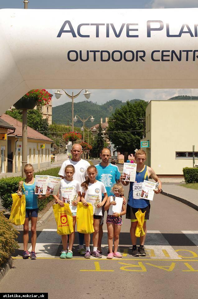 obr: Hodový beh okolo Žarnovice