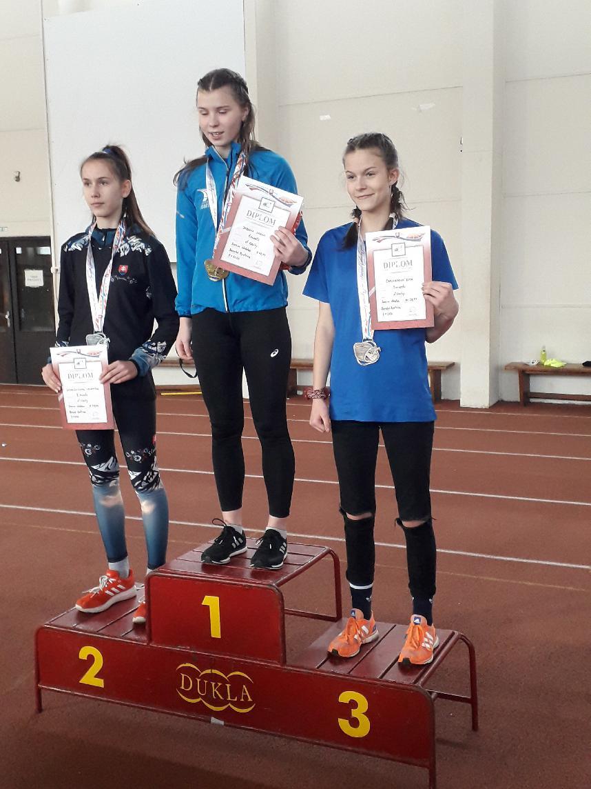 Bronz z majstrovstiev Slovenska v športovej chôdzi v BB