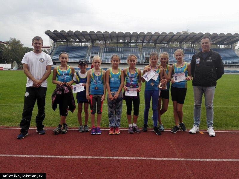 obr: Majstrovstvá SsAZ v atletike prípraviek a mladších žiakov