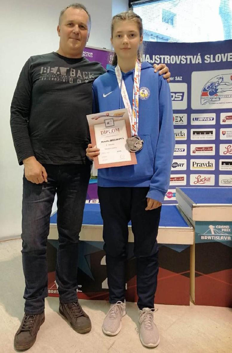 obr: Super výsledok Natálie Bielikovej na M-SR 2019