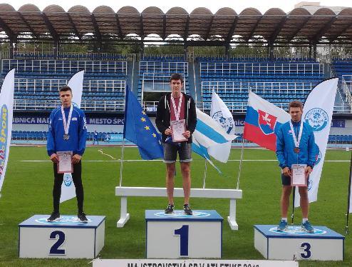 Trojnásobný majster Slovenska je z atletického klubu